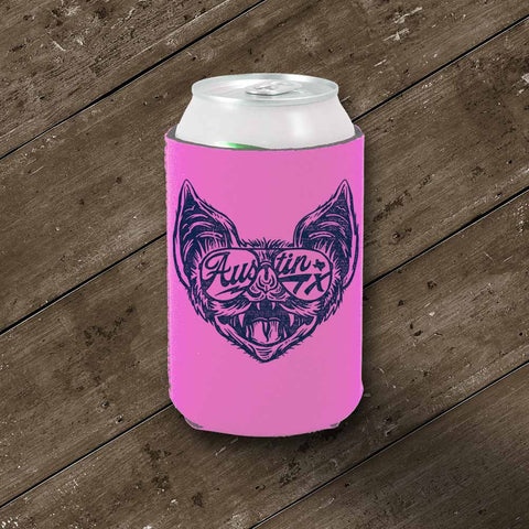 Shady Bat Koozie - Hot Pink