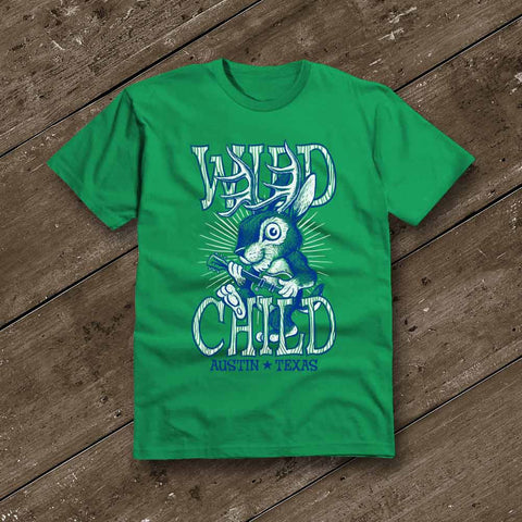 Wild Child Green T-Shirt YOUTH