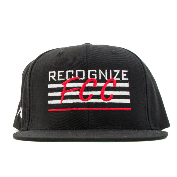 FCC RECOGNIZE SNAPBACK IN BLACK