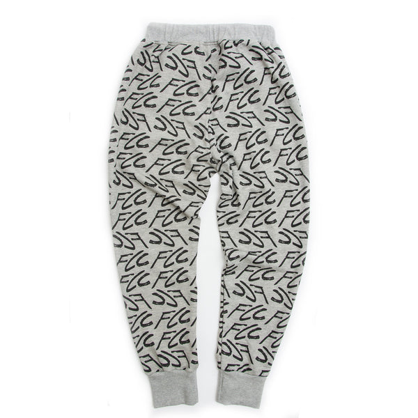 FCC GRAFFITI SWEATPANTS GREY