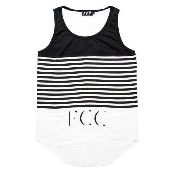 FCC STRIPE TANK TOP