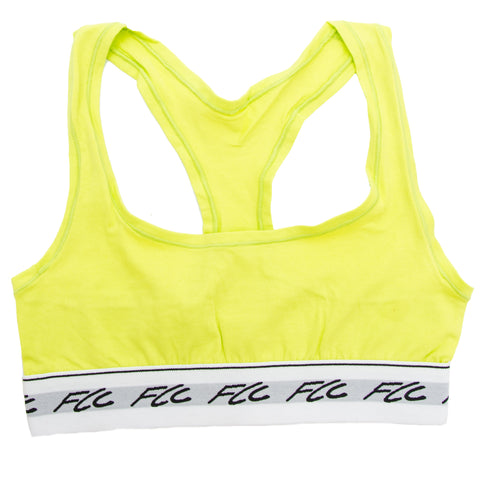 c0d2766580041 FCC SPORTS BRA NEON GREEN