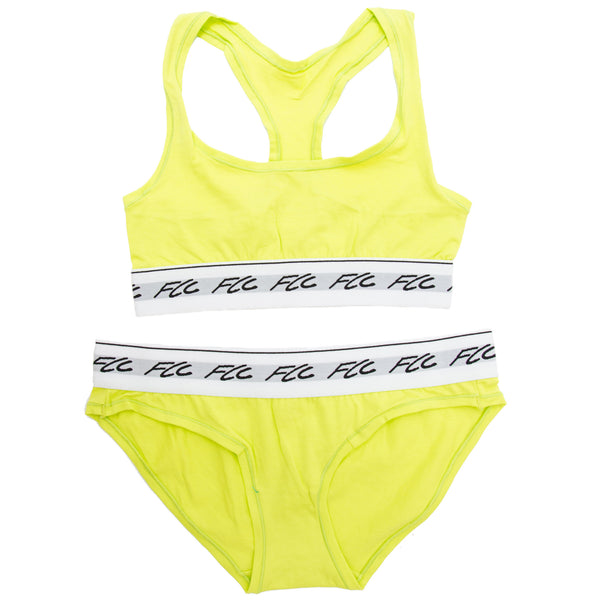 FCC SPORTS BRA NEON GREEN