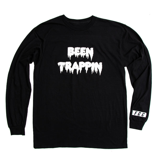 FCC BEEN TRAPPIN' TEE IN BLACK