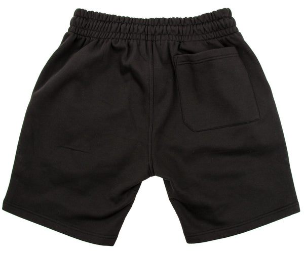BOX LOGO SHORTS IN BLACK