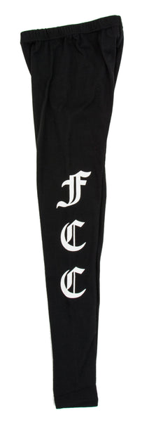 FCC LEGGINGS IN BLACK