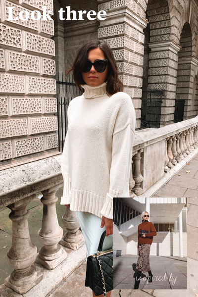 lina roll neck jumper
