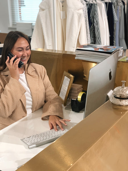 melissa customer service at pretty lavish