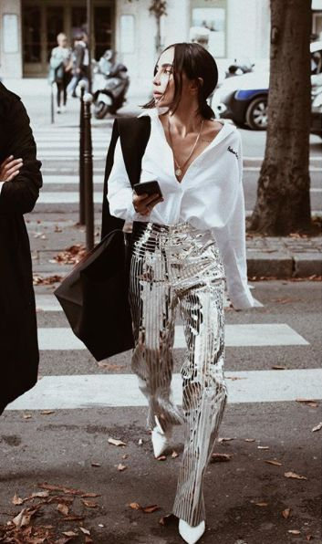 sequin trouser inspiration
