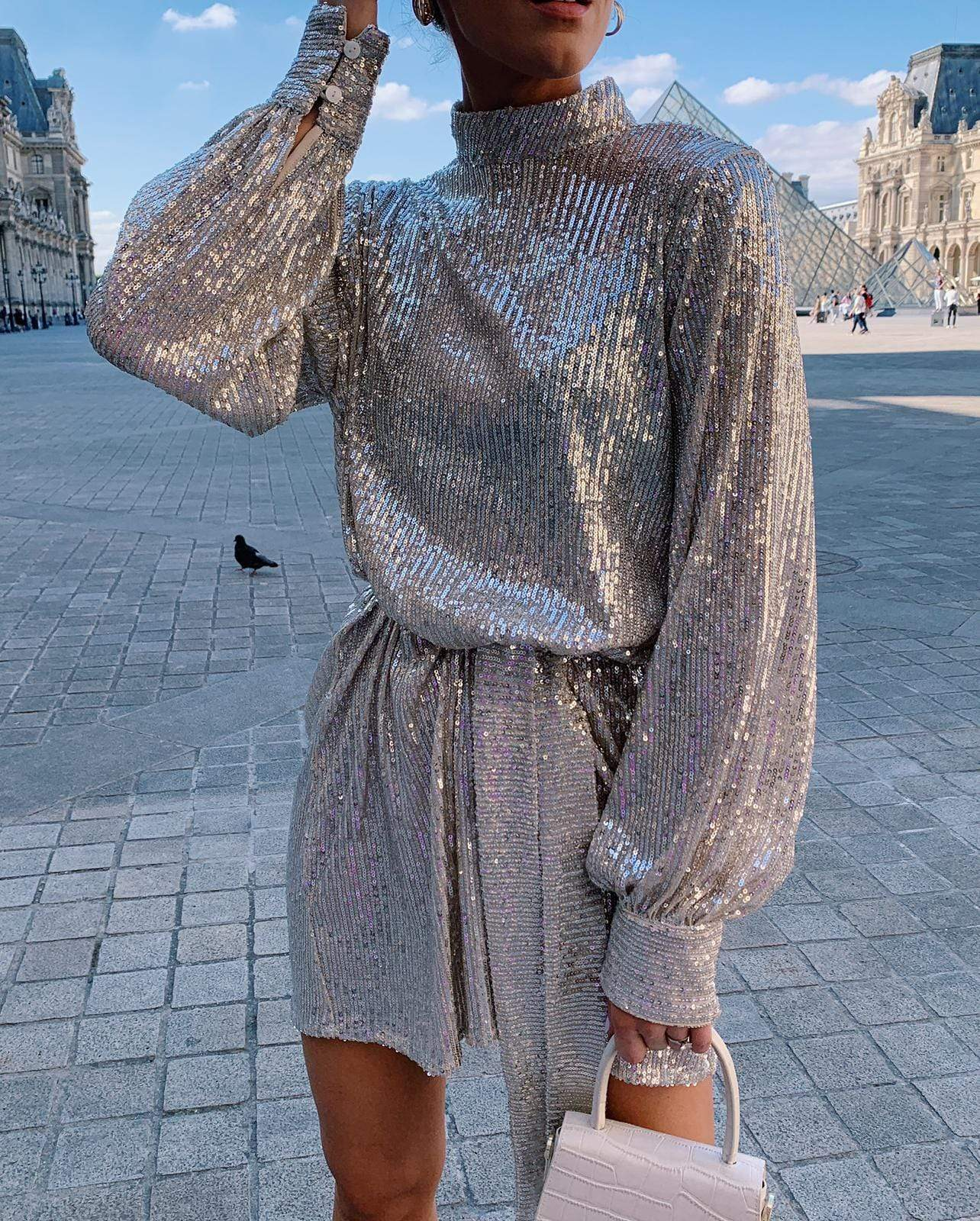 Fifi Sequin Dress, Dress - Pretty Lavish