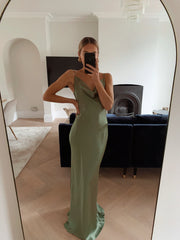 Keisha Maxi Dress - Olive Green