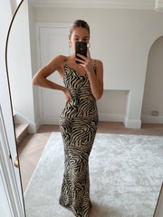 Valencia Dress - New Zebra