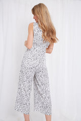 Jojo Jumpsuit - White, Jumpsuit - Pretty Lavish