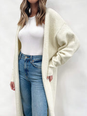Millie Maxi Cardigan - Cream