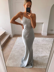 BRIDESMAIDS Amelia Maxi Dress - Matte Pale Blue, Dress - Pretty Lavish