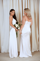 BRIDESMAIDS Keisha Maxi Dress - Matte Oyster, Dress - Pretty Lavish