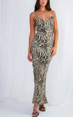 Valencia Dress - New Zebra, dress - Pretty Lavish
