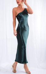 Amelia Slip Dress - Green, Dress - Pretty Lavish