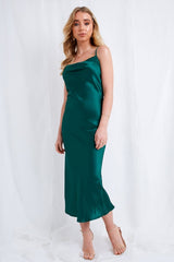 Keisha Slip Dress - Green, Dress - Pretty Lavish