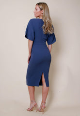 Outlet Sadie Dress - Slate, Dress - Pretty Lavish