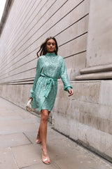 Fifi Sequin Dress - Mint, Dress - Pretty Lavish