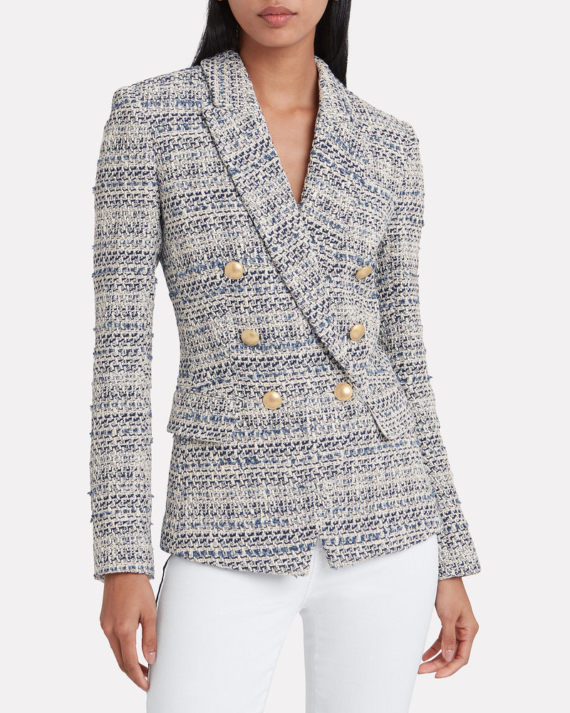 1432GTW - L'agency Kenzie Double Breasted Blazer
