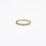 AD183 - The Elongated Hexagon Eternity band