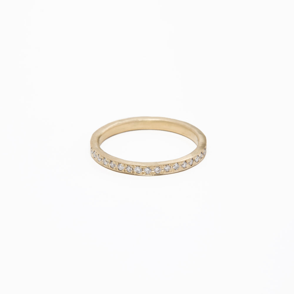 AD99 - Pave Diamond Eternity Band