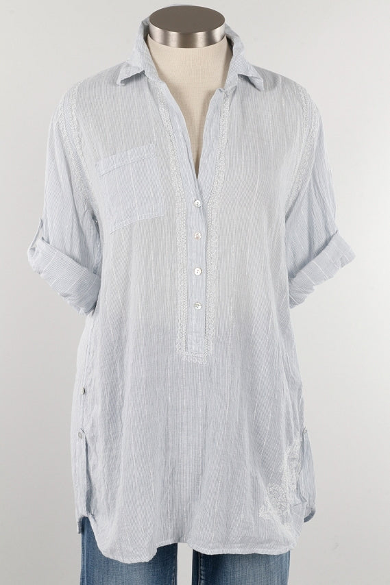 SLRBGCO - SUBTLE LUXURY Boyfriend Shirt