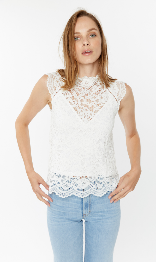 SP20STEFILACE - Generation Love Stefi Lace Blouse