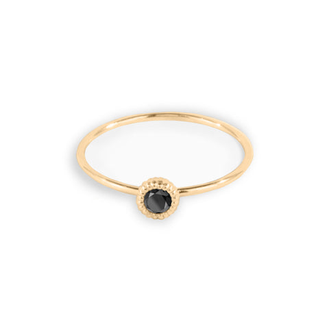 3 Pebble Black Diamond Bracelet