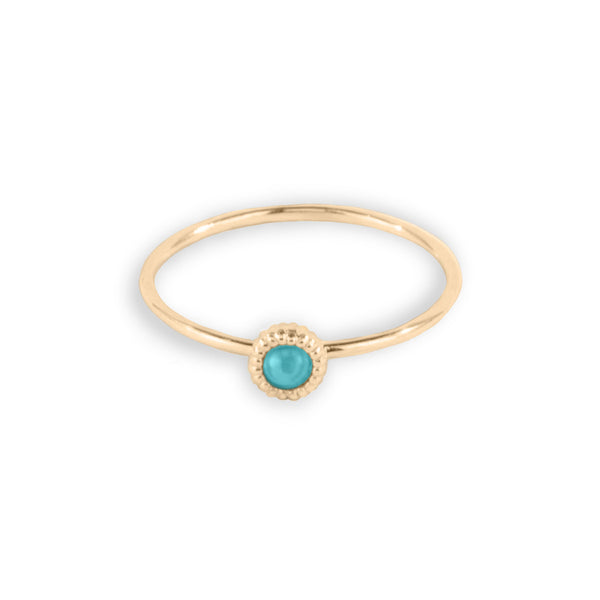 Pebble Turquoise Ring