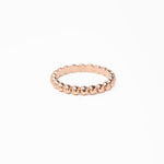 WD278, 14kt Med size ball eternity ring NO DIAMOND
