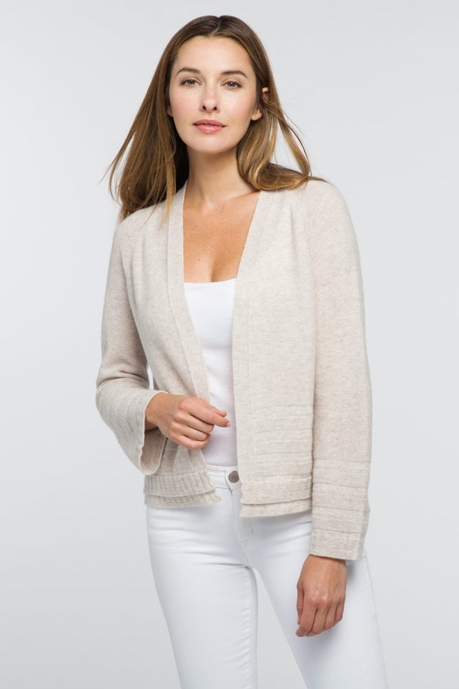 KL20-25 - KinCross Crop Textured Cardigan