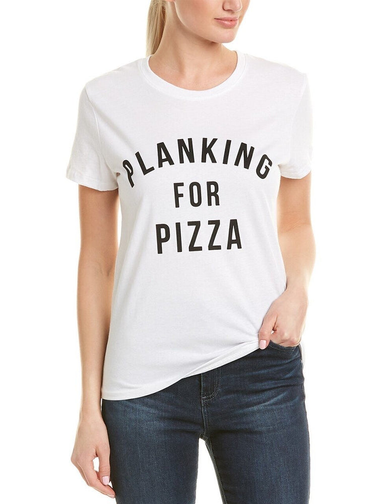 Plank01 Planking for Pizza tee