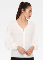 3032WT - Ecru Wright Blouse