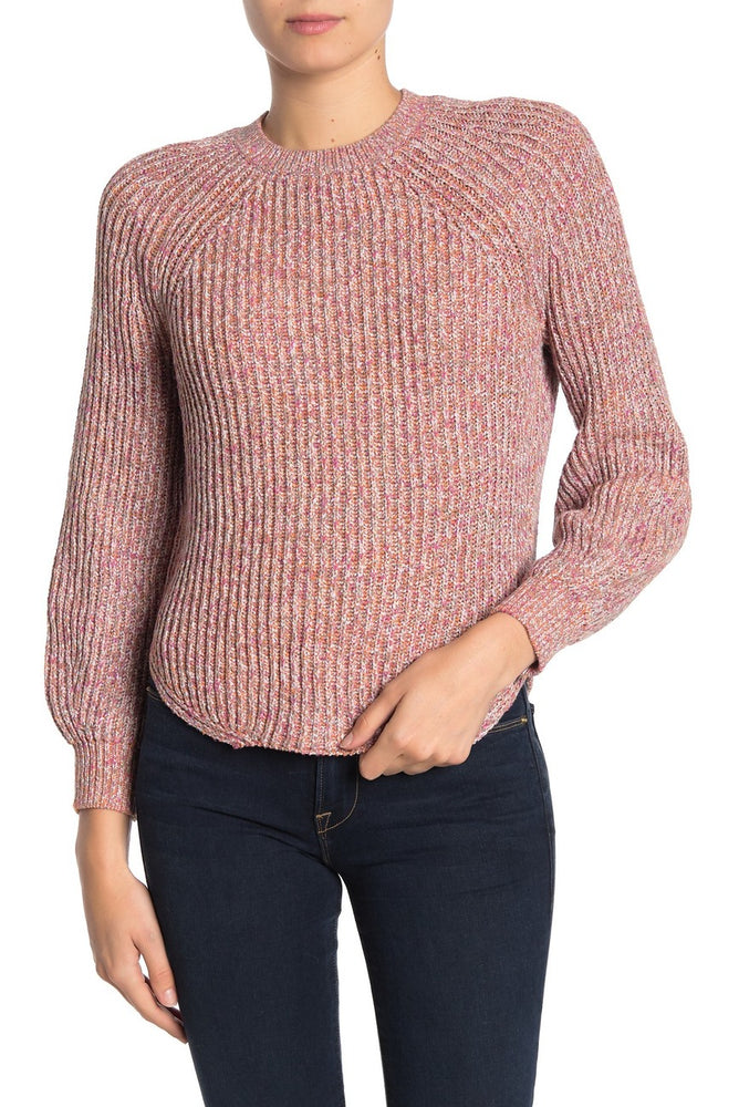 LWSW0511 - Frame Marled Knit Crew Neck Sweater