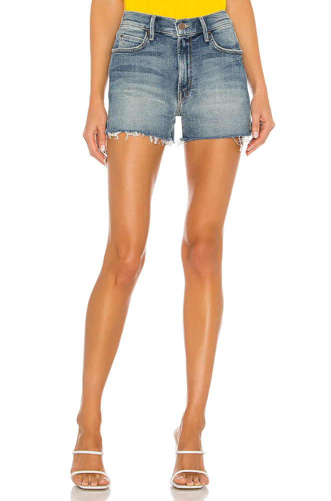 4232-797 - Mother High Waisted Slit Short
