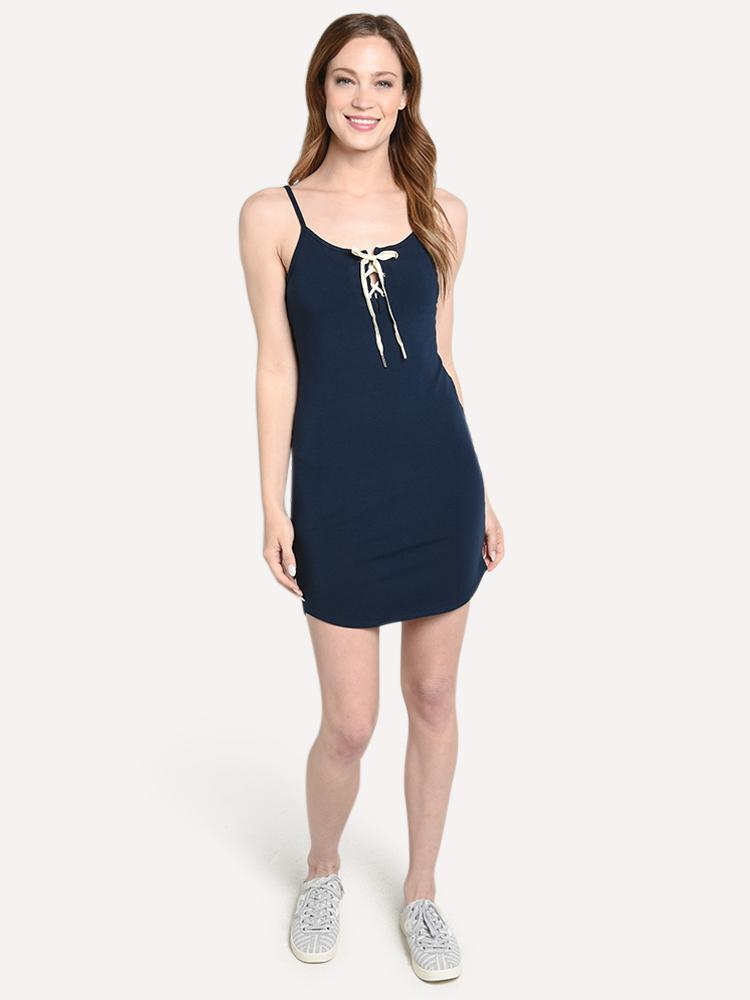 HD0310 MONROW Lace up dress
