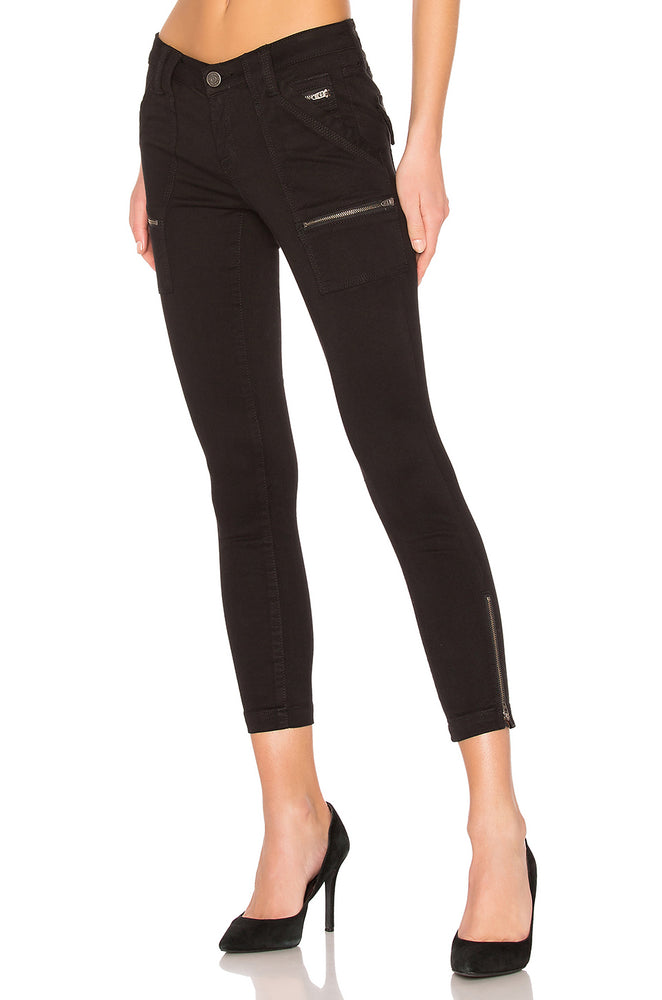 JJ1032 - JOIE Waxed Park Skinny Pant