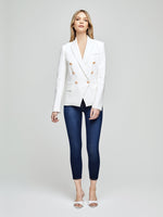 1432PMB - L'Agence Kenzie Double Breasted Blazer