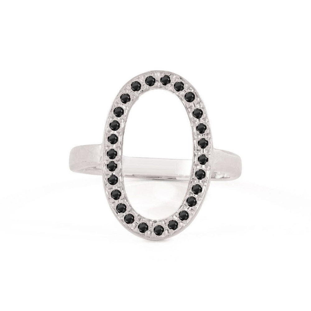 Sterling Oval Ring
