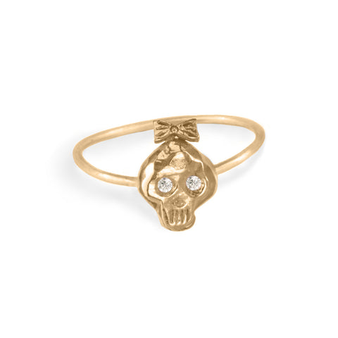 Girl Bonehead Ring