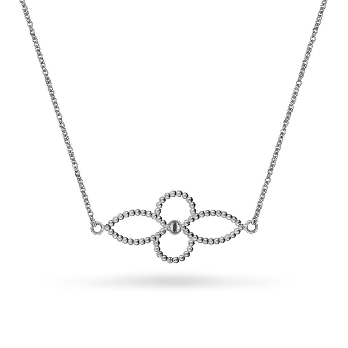 4 Petal Flower Necklace