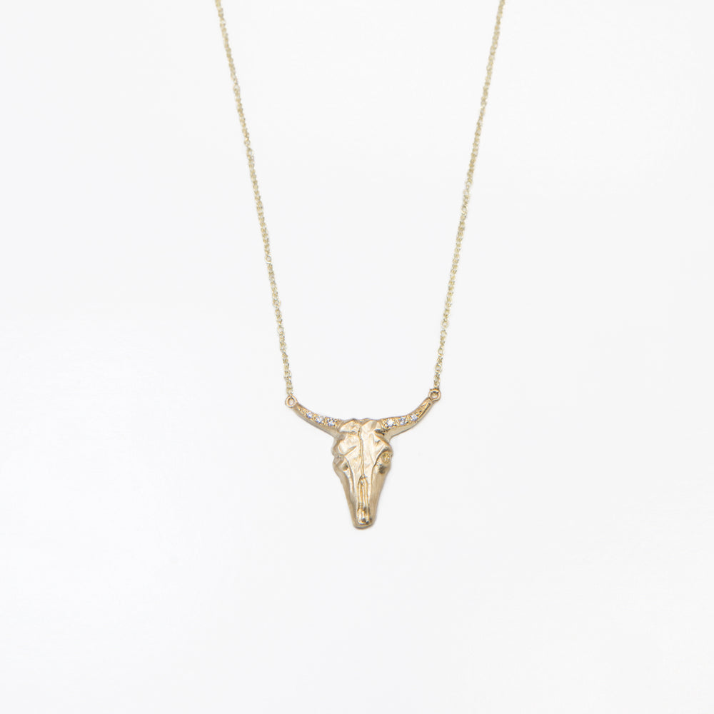 Large Bull Necklace