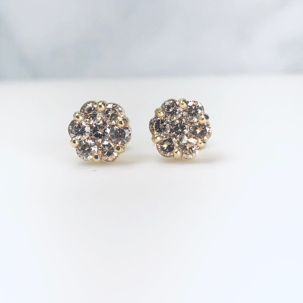 AD259 - Blossom Floral Cluster Studs