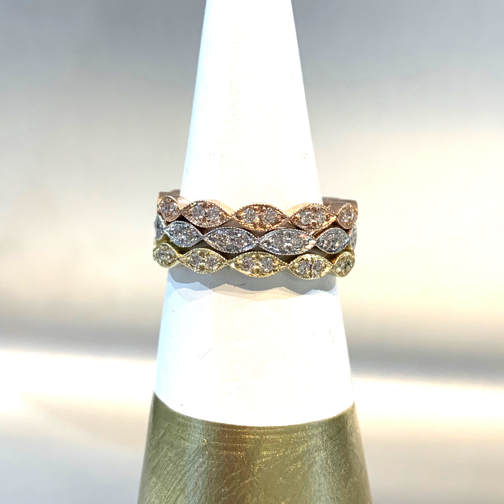Diamond Marquee Eternity Band