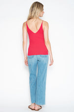 41OGD861 - One grey Day Riley Tank in Poppy