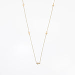WD85-26 14kt 5 Cross Necklace approx 26inches