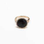WD115-O - The 13mm Black Onyx Ring